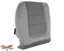 2001 Ford F250 F350 XLT 7.3L Diesel - Driver Side Bottom Cloth Seat Cover Gray