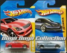 Hot Wheels 2010 New Models '10 Infiniti G37 Red & Silver Blue