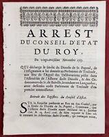 Saint Papoul en 1717 Aude Castelnaudary Toulouse Menard Basville Launay Courson