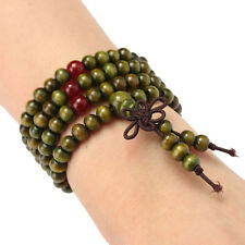 Buddha Buddhist Armband-Halskette Sandelholz 108 Korne Kugel-Armband Mala  Pro