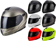 Scorpion Exo-920 Solid Flip up Helmet Motorcycle Helmet with Sun Visor