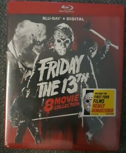 Friday The 13th 8 Movie Collection Blu-ray Brand New Sealed Region A