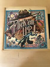 Flick 'em Up! Deluxe Wooden Edition - Excellent Condition. Rare And Out Of Print