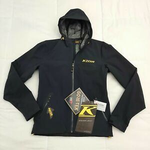 Klim Stowaway Jacket Black Size Small 3148-003 NEW $229.99 Retail! Gortex