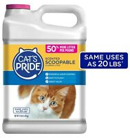 Cats Food LitterScoopable, Scented Lightweight Clumping Litter, Flushable 12Lbs