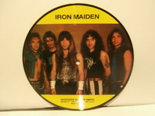 """iron maiden""""interview adian smith""""single7""""uk.picture disque"""