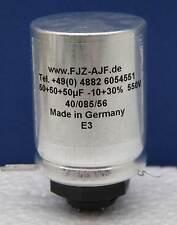 Condensateur Chimique triple:  50+50+50µF 550V/600V FTCap, Allemagne