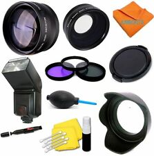 All You Need Accessories Kit For Sony Alpha A5000 A6000 Lenses Filters Flash