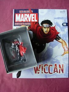Wiccan #198 Classic Marvel Figurine Collection Figure & Mag Eaglemoss VFN