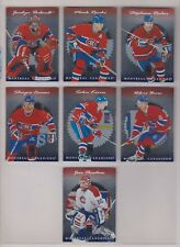1996-97 Donruss Elite Montreal Canadiens Complete Team Set (7) Saku Koivu