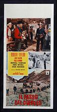 CINEMA-locandina IL PASSO DEL DIAVOLO robert taylor, l. calhern, ANTHONY MANN