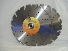"Two Performance Diamond Products 14"" Diamond Blades New Old Stock"