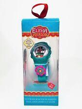 Elena of Avalor LCD Watch Flashing Dial Light-up Icon Disney Junior