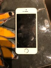 iPhone 5s (A1457) White With Gold Backing 32gb