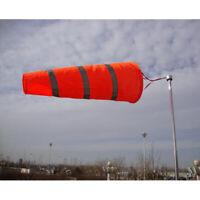 Airport Windsock Outdoor Wind Sock Bag Reflective Belt Grommet 80cm