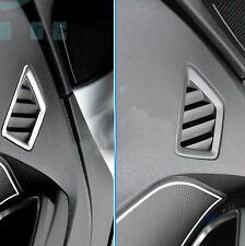 Inner Front Upper Air Outlet Vent Cover Trim 2pcs For Peugeot 3008 GT 2016 2017