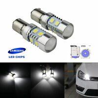 2x H21W BAY9s 10W Car New LED Turn Signal Indicator Tail Brake Light Bulb Lamps