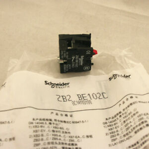 10Pcs NEW Schneider Button Switch 1NC Auxiliary Contact Module ZB2-BE102C