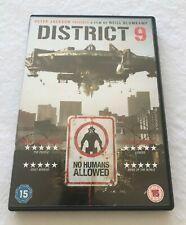 (2009) District 9 DVD. 5035822576032.