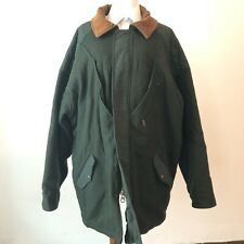 Rare VTG WOOLRICH Size XXL USA Made Wool Hunting Coat Jacket Green Plaid Mens