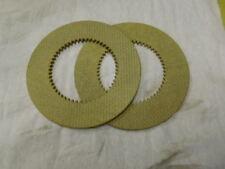 2 Pc Clutch Disc Inner Replacement For Hobart M802 80qt Amp V1401 140qt 873117