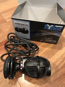 Hydor Koralia 1550 (1550gph) 12V Pump Aquarium Powerhead
