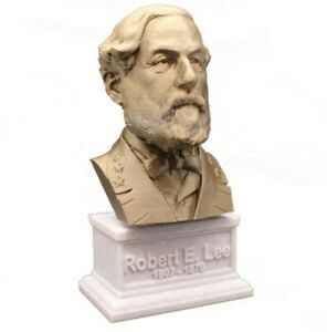 Robert E. Lee 3D Printed Bust Famous Confederate Army General Art FREE SHIPPING