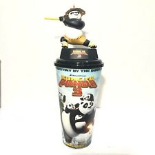 Kung Fu Panda 3 Movie Figurine Po Teaches Cup Topper Cinemas Theatres SF