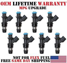 PN-12580681 Fuel Injectors 8x rebuilt MPG UPGRADED >GMC Envoy 5.3L< OEM ACDelco