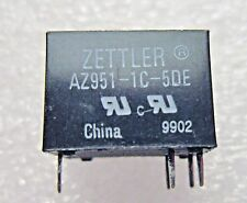 AZ951-1C-5DE ZETTLER SUBMINIATURE POWER RELAY 5 - PC LOT