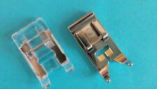 Standard Pied Point Zigzag - Transparent pour Brother, AEG, W6, Janome, Singer,