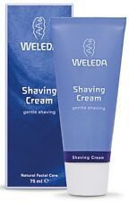 Weleda Shaving Cream 75ml sweet almond milk reduces after-shave irritation