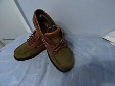 MENS CLARKS BROWN LEATHER  LACE-UP SHOES UK 8/42 GREAT CONDITION