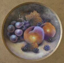Fine Christopher Hughes Fruit Painted Porcelain Picture (Royal Worcester Artist)