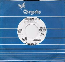 JETHRO TULL  Passion Play (edit #8)  rare promo 45 from 1973