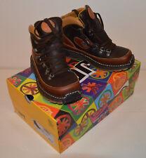 Boots Chaussures montantes cuir hiver marron ART LIBERTAD garçon P 35 NEUVES