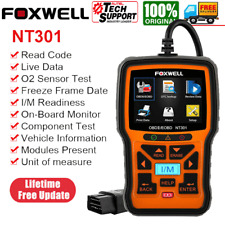 Foxwell NT301 OBD2 Scanner Code Reader Check Engine Fault Car Diagnostic Tool US