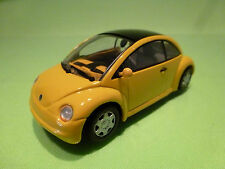 MINICHAMPS VW VOLKSWAGEN CONCEPT 1 1994 - NEW BEETLE - YELLOW 1:43 - EXCELLENT