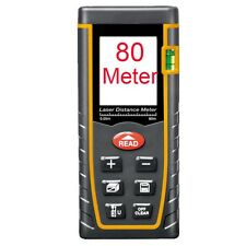 80M Lumiparty Laser Distance Meter Measure Tape Rangefinder Range Finder Tool