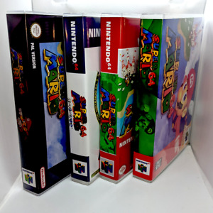 Super Mario 64 Nintendo 64 N64 -  Replacement Case * NO GAME * Case Only