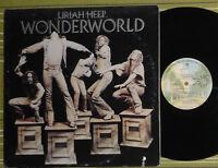 URIAH HEEP, WONDERWORLD, LP 1974 ORIGINAL US EX/EX W 2800