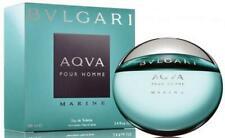 Bvlgari Aqua Marine Cologne 3.4 oz for Men 3.3 oz New in Box Aqva