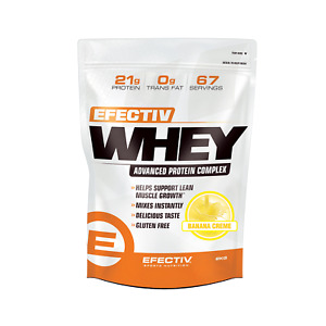 Efectiv Whey 2kg - Advanced Protein Complex - Gluten Free - Lean Muscle Growth