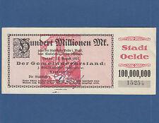 Oelde 100 millones de marcos 1923 II/XF