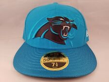045fb1110 Carolina Panthers NFL New Era 59FIFTY 2016 Sideline Hat Fitted 7 5 8 Low  Profile