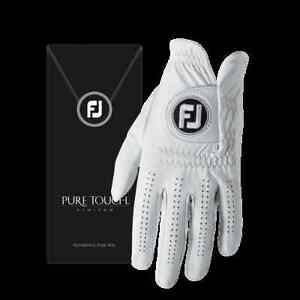 Footjoy Pure Touch Limited Men's Golf Glove Pearl Leather FJ. FREE UK P&P