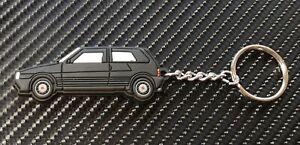 Fiat Uno Ie Turbo Car Key Anello - BLACK