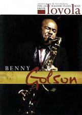 Benny Golson The Jazz Master Class Series from NYU DVD NEW 000320789