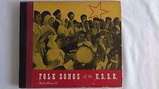 """Folk Songs Of The U.S.S.R."" 78rpm set - Keynote Records #110"