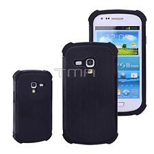 For Samsung Galaxy S3 Mini Case Impact Hybrid Shockproof Cover (i8190) - Black